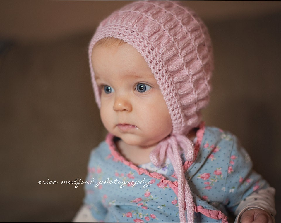 Vintage Style Knit Hat Pattern Toddlers