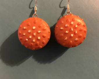 Hamburger Earrings   S6