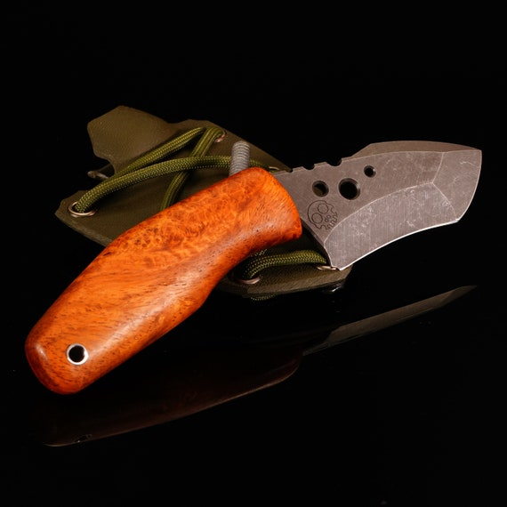 Swift Knife with Amboyna Handle