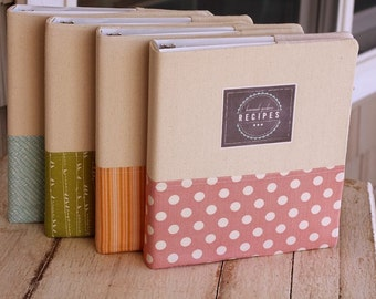 Recipe Notebook Pattern Only - This will be sent to you as a download