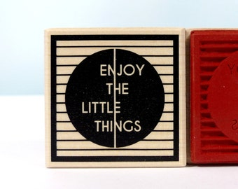 Stamp enjoy the little things