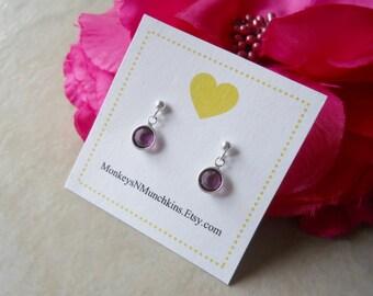 Crystal Dangle Earrings Flower Girl Junior Bridesmaid E032