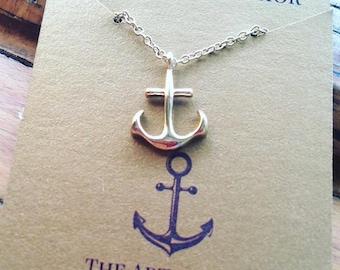 Handmade Anchor Necklace