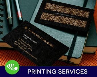 500 Silk Business Card Printing - Silk Laminated, 16pt Smooth Laminated Stock