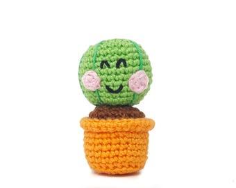 Cactus Casper - Amigurumi Crochet pdf Pattern (EN & NL)