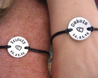 Couples Bracelets - Couples Bracelet Set - Boyfriend Bracelet - Girlfriend Bracelet - Bracelet for Him - Bracelet for Her - Couples Gift
