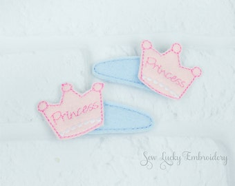 Princess Crown Clippy Set