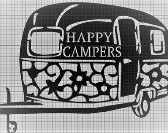DXF happy campers file
