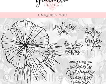 Uniquely You Digital Stamp Set