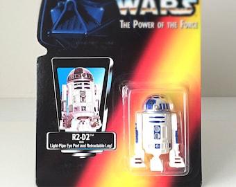 R2D2 Star Wars Figure, Vintage Action Figure Toy, R2-D2 Star Wars Droid Kids Gift