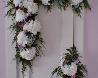 Arbor swag etsy wedding arch swag extra large wedding swag archway flowers silk arch flowers mightylinksfo