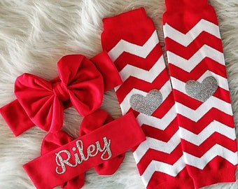 Baby Girl Headband, Baby Leg Warmers, Newborn Headband, Newborn Leg Warmers, Leg Warmers Baby, Leg Warmers Toddler, Girl Gift, © Liv & Co.™