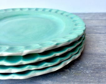 Ceramic plates - Pottery plates - Stoneware plates - Side plates - Set of plates
