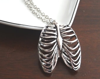 Rib Cage Necklace Anatomical