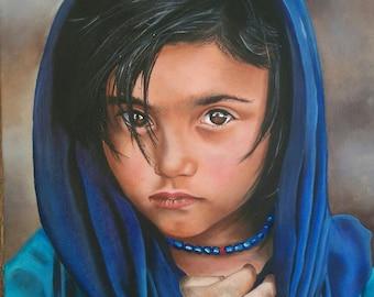 BABY GIRL AFGHAN