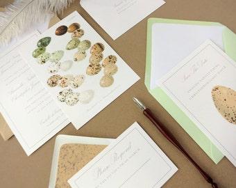 Oology Wedding Invitation Suite