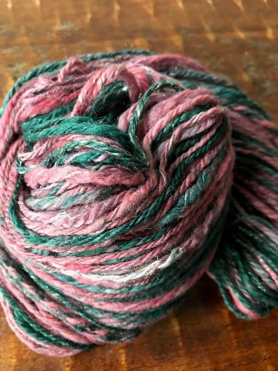 DK weight handspun yarn