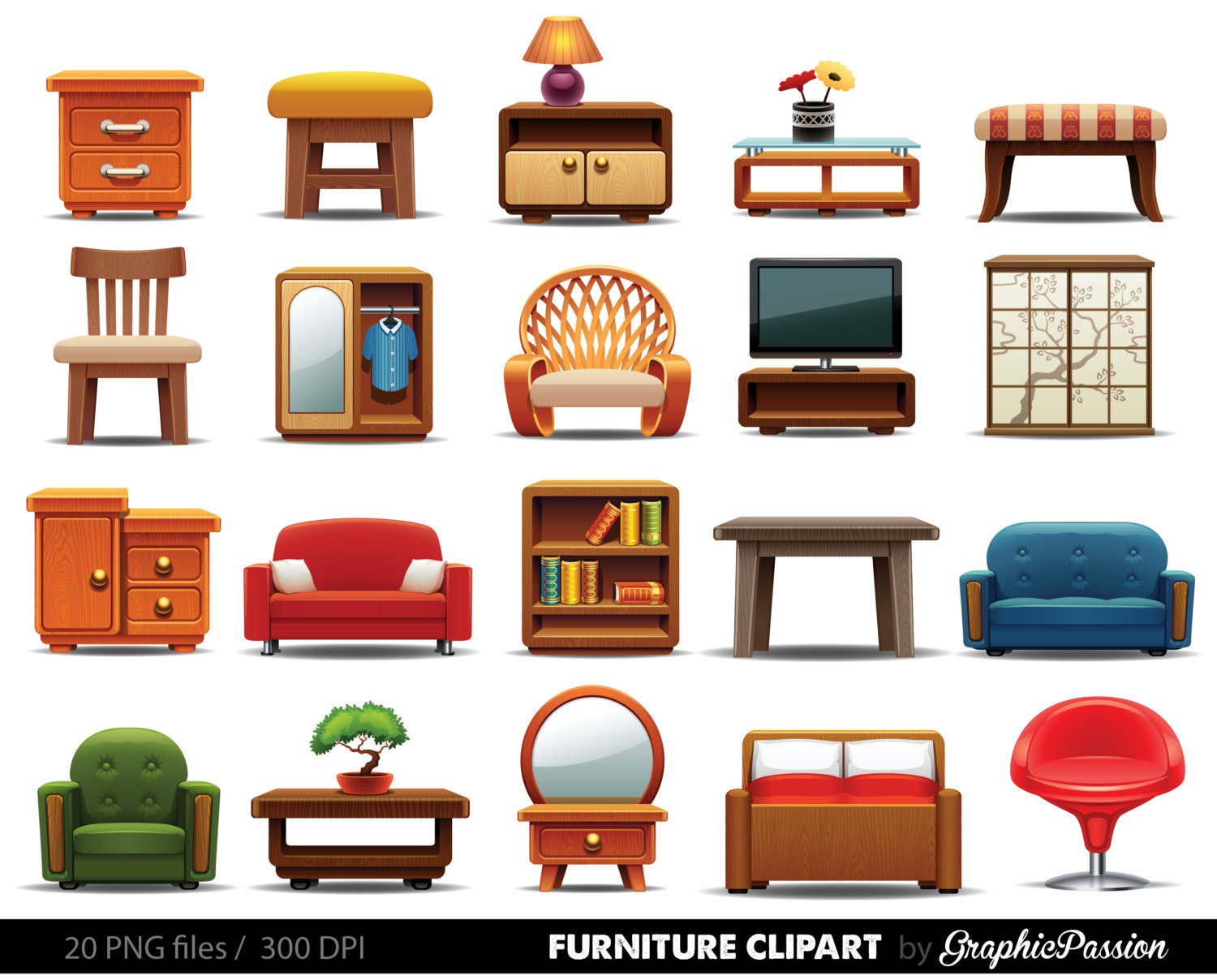 Furniture clipart clipart furniture home decor clipart home Download home decoration pics