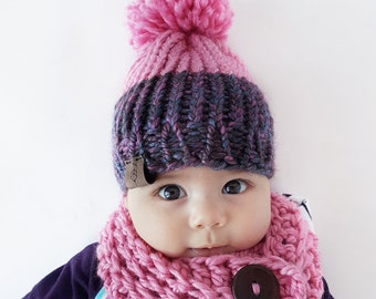"""Baby Toque (18""""/46 cm ) Knitted Hat 