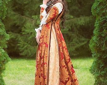 Italian Renaissance costume, Juliet dress, romantic gown, made to order