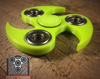 EDC Spinner Ninja Star Fidget Toy With Caps