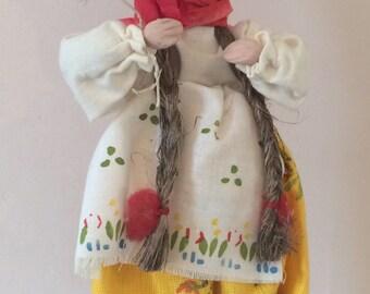 Vintage handmade Polish doll