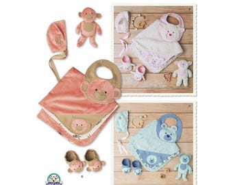 Simplicity Sewing Pattern 8623 Baby Accessories