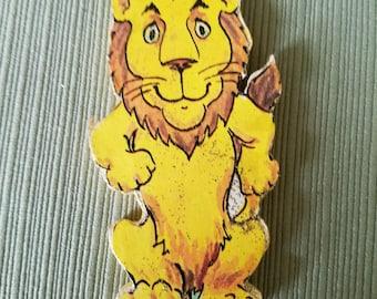 Lion Ornament (Wooden)