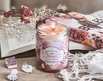 Romance   All Things Romantic Inspired Candle   Peaches & Cream