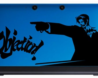 Miles Edgeworth decal (Ace Attorney)