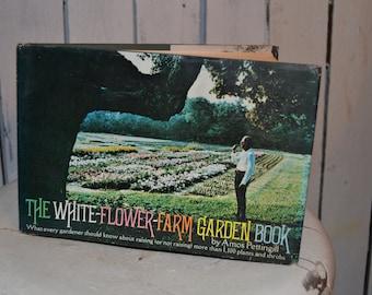 Lot of 3 vintage flower garden books-Crocketts-White Flower Farm-Tuppercraft