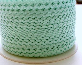 "11/64"" Polyester Rick Rack - Mint Green"