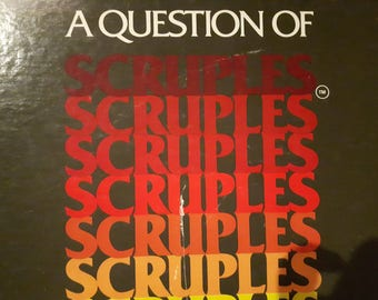 1984 Scruples A question of Scruples Vintage Board Game