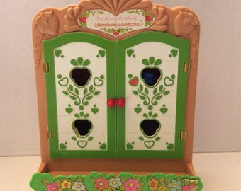 Vintage Strawberry Shortcake Country cupboard