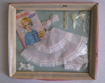 Tammy Doll Vintage 1962 Underwear Set No: 9091 Complete, NRFB.