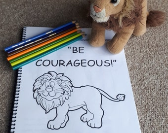 3-5yo Regional Convention 2018 Be Courageous JW Notebook for kids