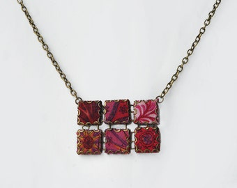 Moroccan Tile Necklace