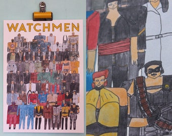 Watchmen Team Illustration