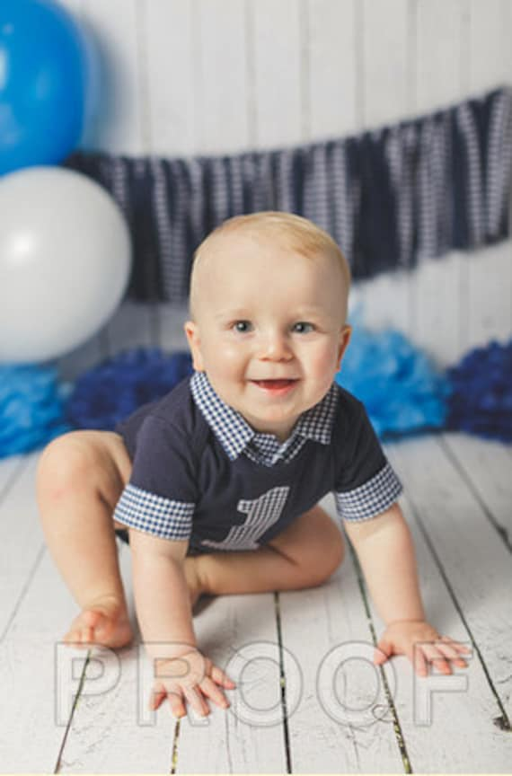 Baby Boy First Birthday Outfit Cake Smash Outfit Boys Cake