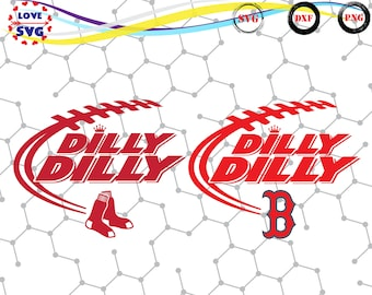 Dilly Dilly Boston Red Sox svg,png,dxf/Dilly Dilly Boston Red Sox clipart for Print/Design/Cricut/Silhouette and any more