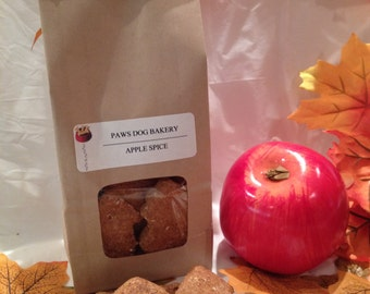 Apple Spice  - 100% All Natural, Healthy and No Preservatives Dog Treats .