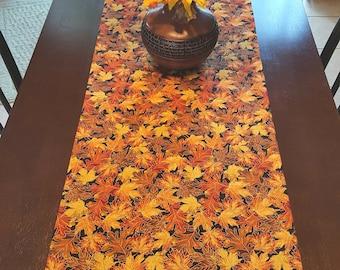 Fall Table Runner,  Autumn Table Runner,  Harvest Table Runner