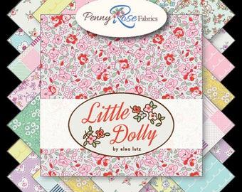 "Little Dolly Riley Blake Fabric 5"" Stacker 42 pcs"