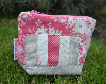 Cute Tilda patchwork Coin purse