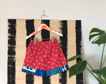 DANCE 1-3 Years Childrens Shorts Pants Cullottes Cotton Pattern Unisex