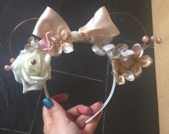 Minnie Style Ears disney rosegold disney