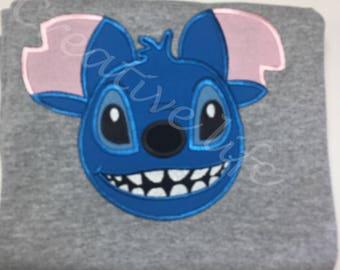 Disney Stitch Shirt, lilo and stitch- Youth sizes/ Disney family shirts, Disneyland/ Disney world/ Boys Disney shirt