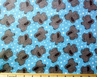 Elephant Toss (Cotton Flannel)