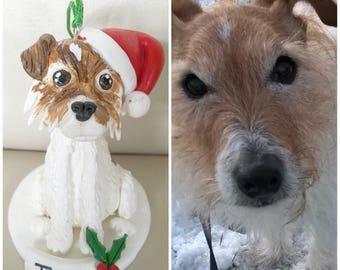 Personalised Jack Russell Christmas Tree Ornament