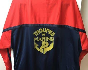 The French Navy jacket oversize
